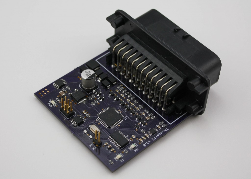 Assembled ThumperFI v1.0 board