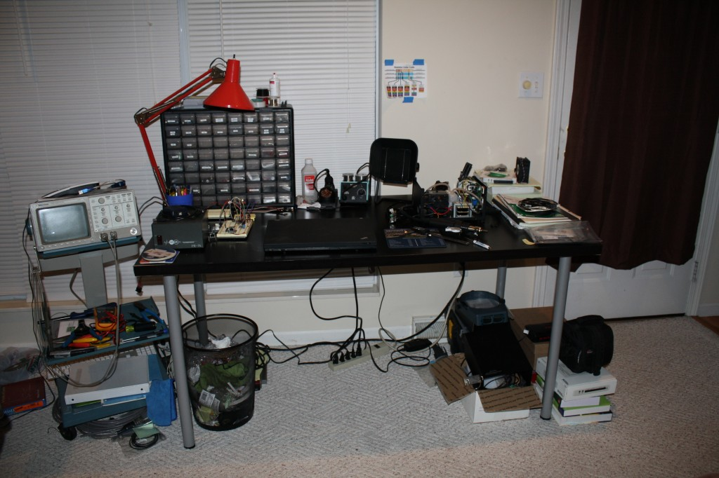 Logan's workbench